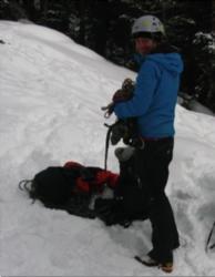 Fastest Ascent of Rainier by female : Katie Bono