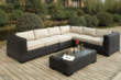 Metropolitan Wicker Sectional Sofa Set