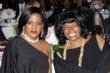 Valerie Ervin, Ray Charles Foundation President, and Angeles Echols-Brown, Executive Director and Founder of Educating Young Minds attend the EYM Scholarship Ceremony.