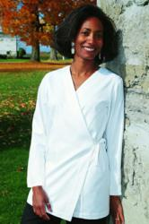 Custom Womens Lab Coat, Style  W106 by Crooked Brook