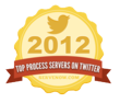 Top 75 Process Servers on Twitter 2012 Released by ServeNow.com