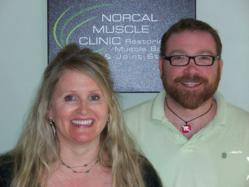 Norcal Muscle Clinic co-owners Laura Miles and Derek Colderbank