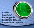 Cymbet EnerChip Solid State Batteries are Biocompatible