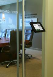 Secure iPad lock display with EventBoard iPad app.