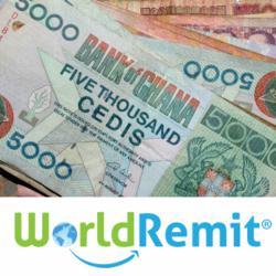 online money transfer to Ghana