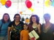 Maddie T., Thrift Town's Prom Winner Receiving iPad2 Prize