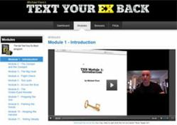 michael fiore text your ex back 2.0 private member's area
