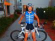Professional triathlete Michael Poole with his Arctic Heat cooling vest