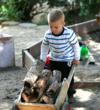 Children enjoying the Kindergarten at Highland Hall Waldorf School
