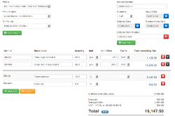 EDI/AS2 Invoice Creation on the AS2Gateway
