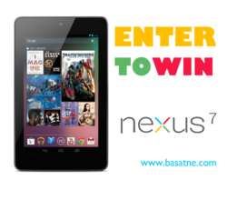 Enter to win a Nexus 7 from Basatne Electronics