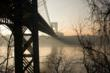 Morning Haze at the GWB - by Anthony Davis