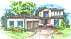 John Cannon Homes Baylin Model by Marc-Michaels Interior Design