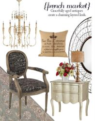 French Market furniture decorating ideas