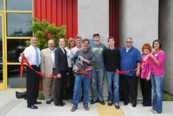 Ribbon cutting at Docucopies.com's new San Luis Obispo, Calif., facility.