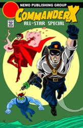 Commander X All-Star Special by Jay Piscopo