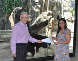 Leo Eisenband at Barranquilla Zoo