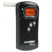 The AlcoHAWK Personal Breathalyzer model PT500