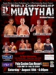 Men's WCK Muay Thai August 18