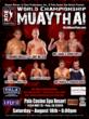 Men's WCK Muay Thai August 18