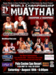 Women's WCK Muay Thai August 18
