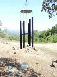 Wind Chime in the Desert