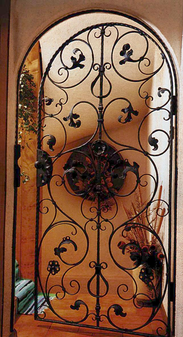 Outwater introduces its wrought iron decorative panels - Wrought iron decorative wall panels ...