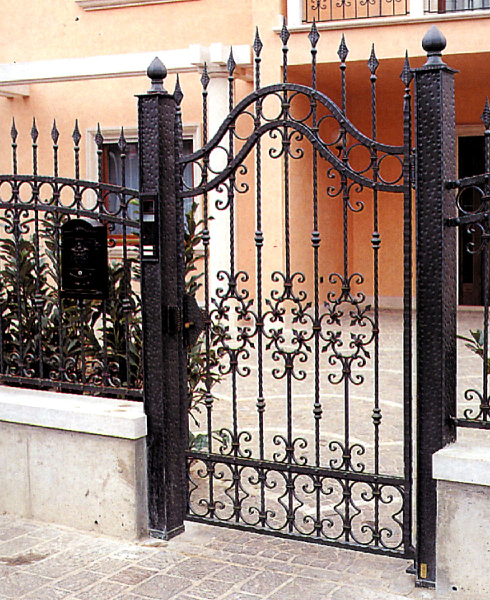 outwater introduces its wrought iron decorative panels. Black Bedroom Furniture Sets. Home Design Ideas