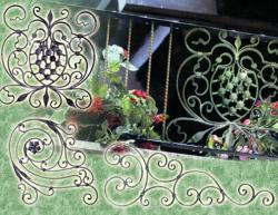 Outwater's Wrought Iron Decorative Panels