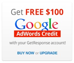 GetResponse Google Adwords