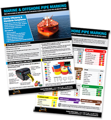Marine and Offshore Pipe Marking Guide