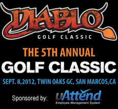 Processing Point and uAttend Time and Attendance Systems Sponsor the Diablo Golf Classic to Raise Money for Charity.