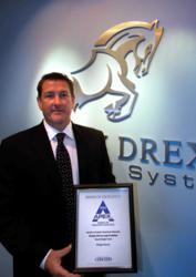 APEX Award goes to Steve Schebesch of Morgan Drexen for company logo design