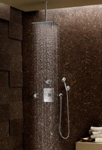 fima carlo frattini wall mounted rain shower head