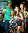 Lorenzo Lamas with his Family Love Astro Pops!