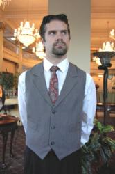 Vest Style M411- Front - Crooked Brook