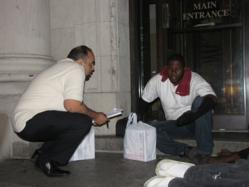 "GI Go Fund conducts ""Midnight Mission for Homeless Veterans"""