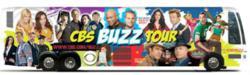 CBS Buzz Tour Bus