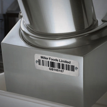 Stainless Steel Asset Tags Barcode Labels