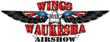 Wings over Waukesha Air Show logo