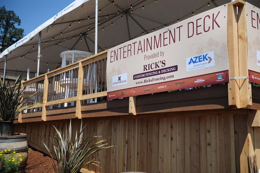 Rick S Custom Fencing Decking Builds Entertainment Deck