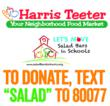 Harris Teeter Let's Move Salad Bars 2 School - Text to Donate
