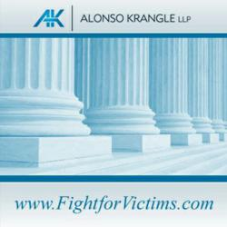 To discuss a potential Pradaxa bleeding lawsuit with an experienced and compassionate attorney at Alonso Krangle LLP, please contact us at 1-800-403-6191 or visit our website,  www.FightForVictims.com