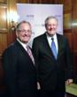 Michael J. Mulligan of ABGPrint.com with Steve Forbes