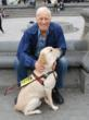 "Lloyd Burlingame, author of ""Two Seeing Eye Dogs Take Manhattan!  A Love Story"""