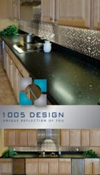 Decorative Backsplashes from 1005 Design