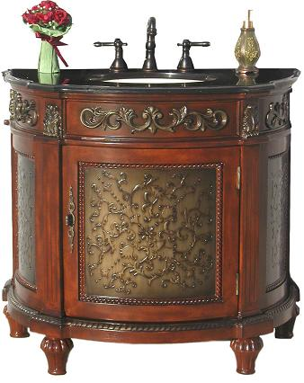 A Selection Of Ornate Antique Bathroom Vanities For Small