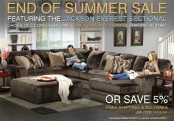 Sofas And Sectionals Jackson Everest Sale Landing Page