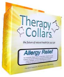 Therapy Collars holistic animal collars and animal tags.
