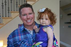 Chris Luck and his Daughter Callie